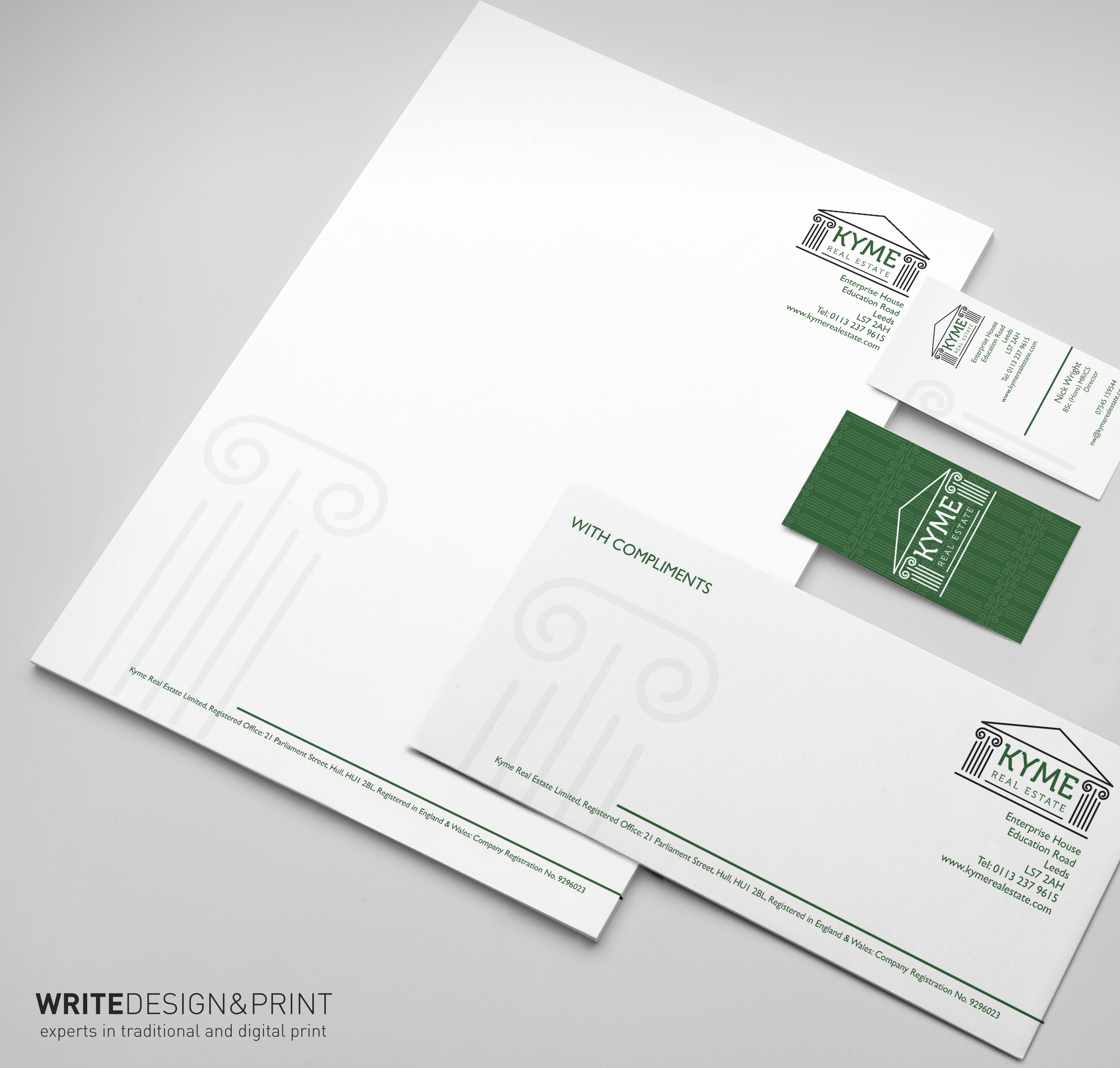 Business stationery wetherby leeds west yorkshire write whatever your line of business professional quality stationery is an essential part of your companys image reheart Choice Image