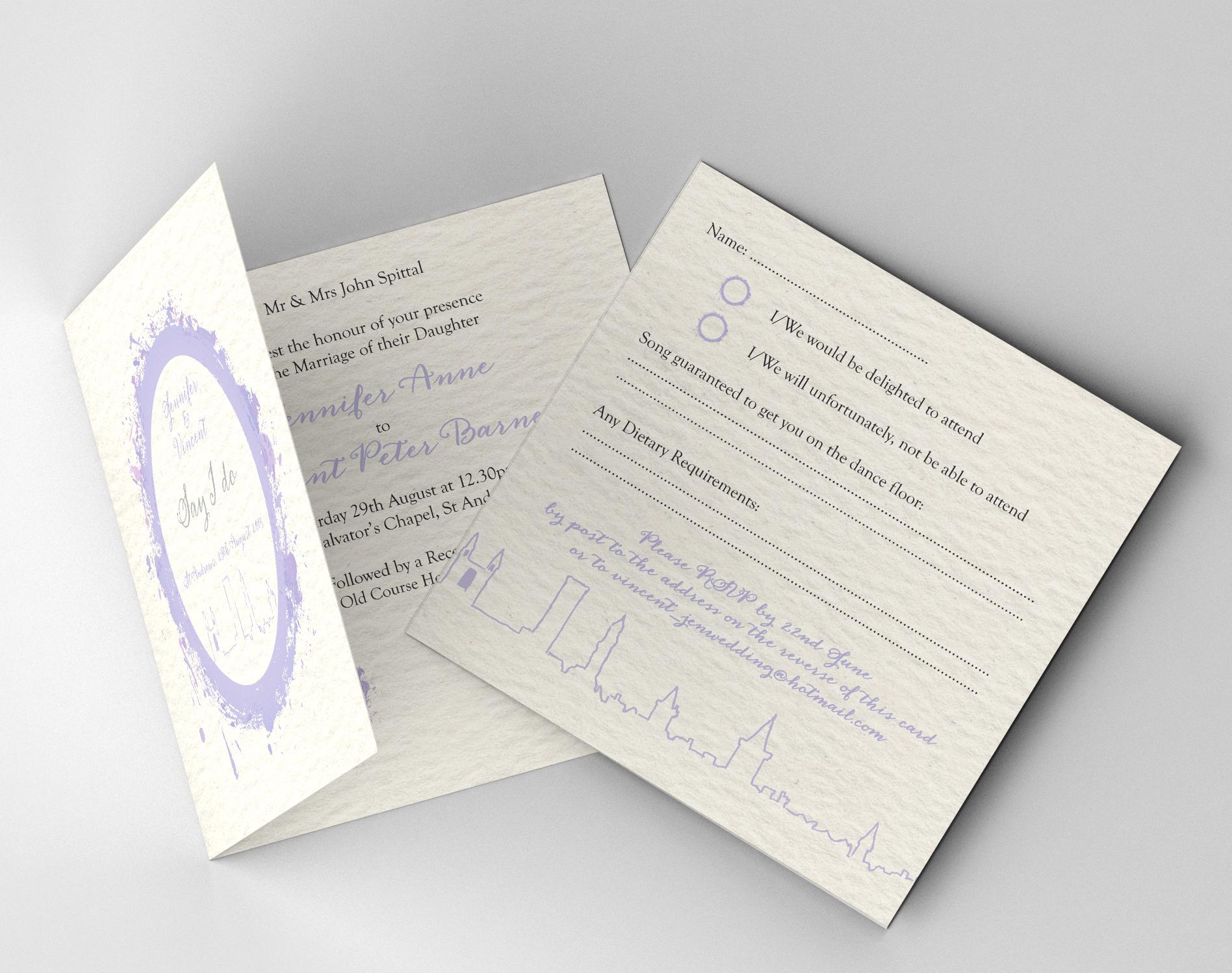 Wedding Stationery: Wetherby / Leeds / West Yorkshire > WRITE DESIGN ...